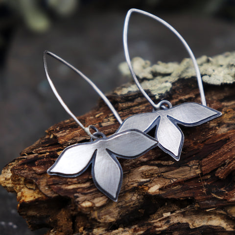 Petal Drop Earrings - Made To Order