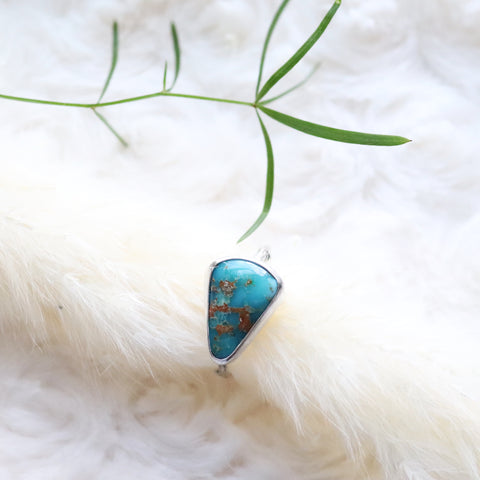 Turquoise ring- size 8