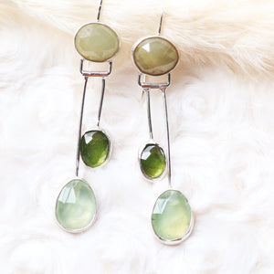 Spring Air swing earrings