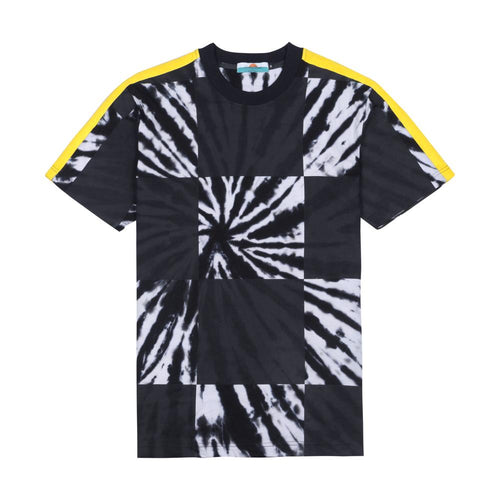 TIE DYE CHECKERBOARD T-SHIRT