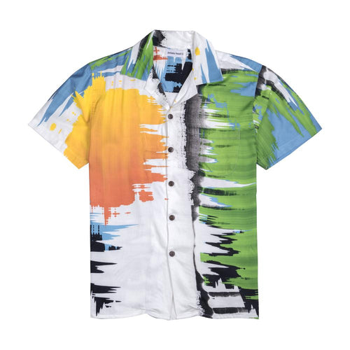 SUNSET WAVE ALOHA SHIRT