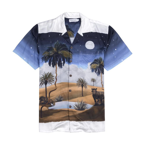 NIGHT OASIS ALOHA SHIRT