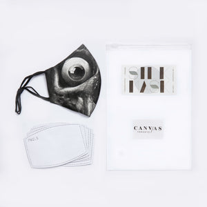 Canvas X Mr. Dreegz Silk Mask Collaboration