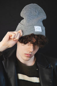 Canvas Beanie - Nano Grey