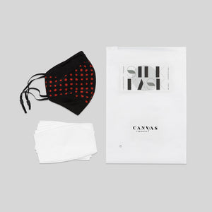 Canvas Silk Mask/ Changeable filters