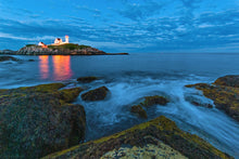 Load image into Gallery viewer, Nubble Lighthouse Ocean Glow - York, ME