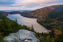 Load image into Gallery viewer, Jordan Pond Fall Foliage - Acadia National Park, ME