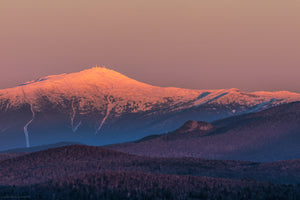 Mount Washington Alpenglow