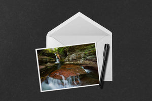 Adams Falls Notecard