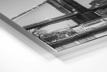 Load image into Gallery viewer, Black & White Brooklyn Bridge Panorama