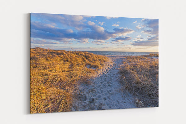 Ridgevale Beach Sunset Canvas Gallery Wrap