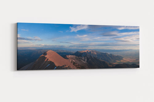 Bridger Range Sunset Panorama