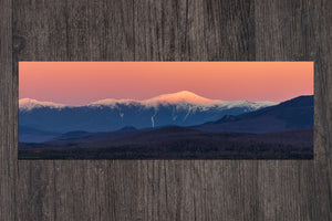 Early Snow Alpenglow on Mount Washington
