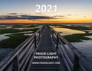 2021 Frigid Light Photography Calendar