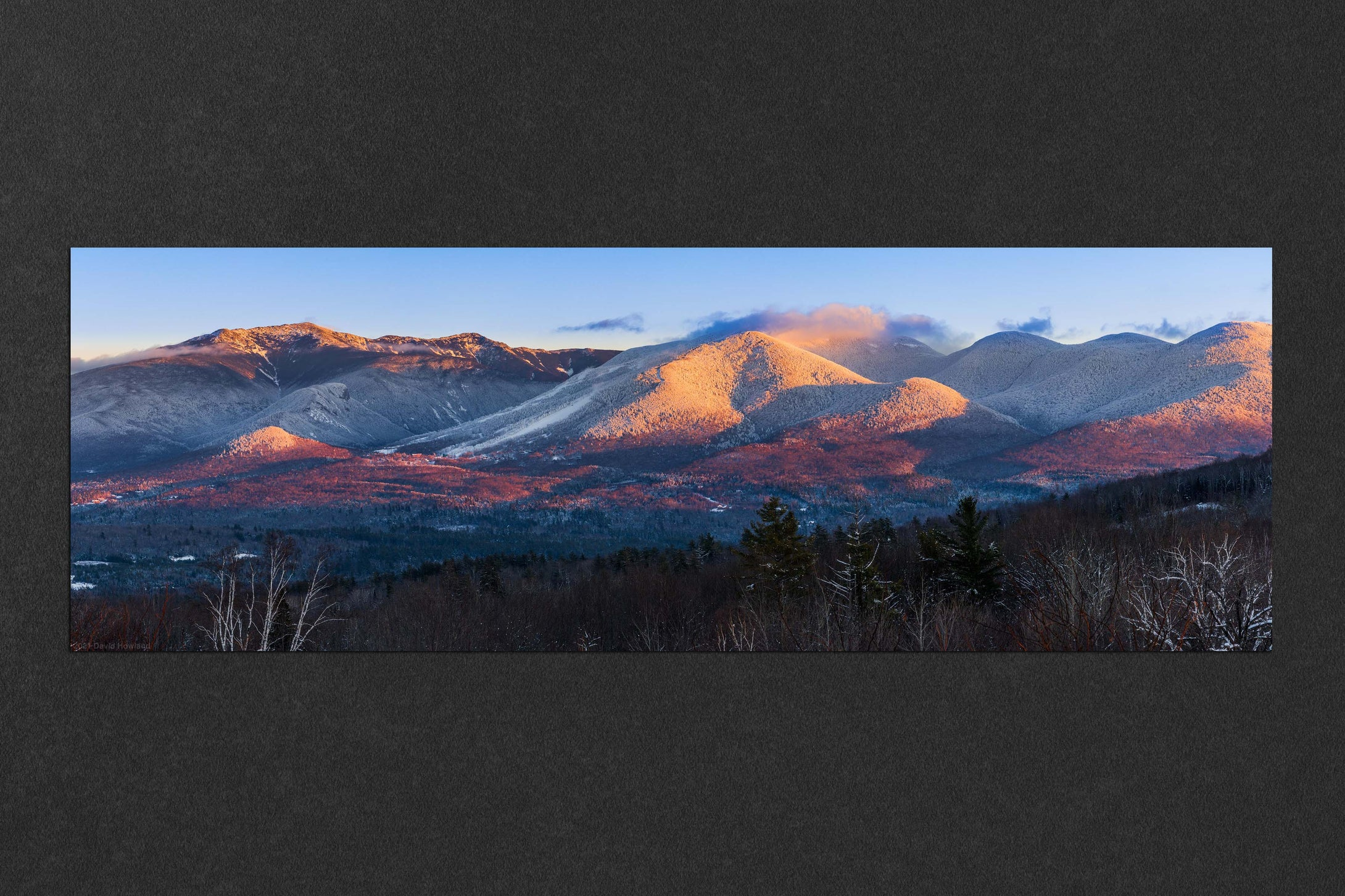 Franconia Notch Sunset Alpenglow