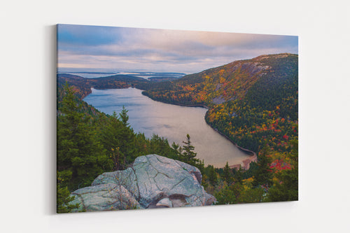 Jordan Pond Fall Foliage - Acadia National Park, ME