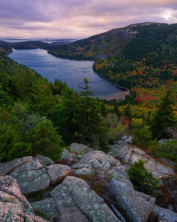 Jordan Pond Sunrise - Acadia National Park, Maine