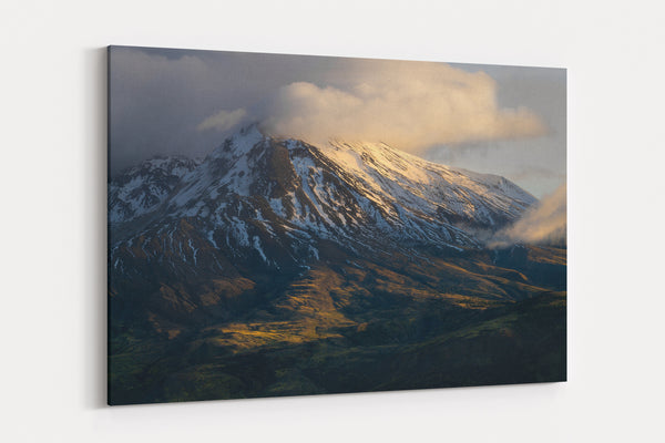 Mount St Helens Sunset Canvas Gallery Wrap