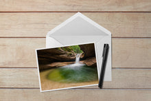 Load image into Gallery viewer, Sabbaday Falls Cavern Notecard