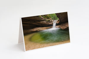 Sabbaday Falls Cavern Notecard