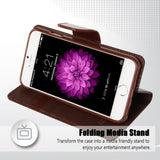 iPhone 6/6S Horizontal Flip Leather Case with Holder