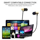 XT11 Magnetic In-Ear Wireless Bluetooth V4.2 Earphones, For iPad, iPhone, Galaxy, Huawei, Xiaomi, LG, HTC and Other Smart Phones