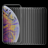 100 PCS 9H 2.5D Tempered Glass Film for iPhone XS / X