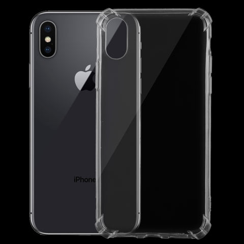 Ultrathin Transparent TPU Soft Protective Case for iPhone XS