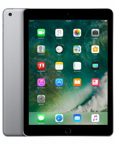 "Apple iPad 5th Gen (A1822) 9.7"" 32GB - Space Grey, WiFi IOS14"