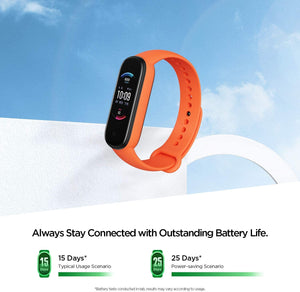 Amazfit Band 5 Fitness Tracker con Alexa Orange