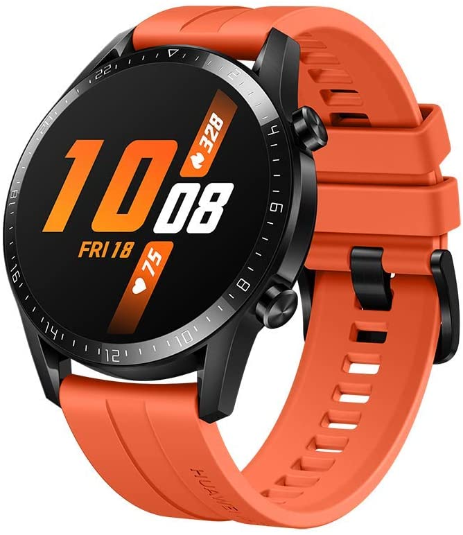 HUAWEI Watch GT 2 - Reloj Inteligente, Bluetooth, Naranja