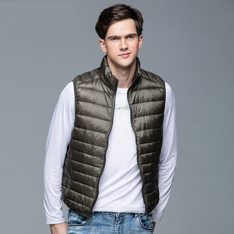 Travel Down Vest for Men