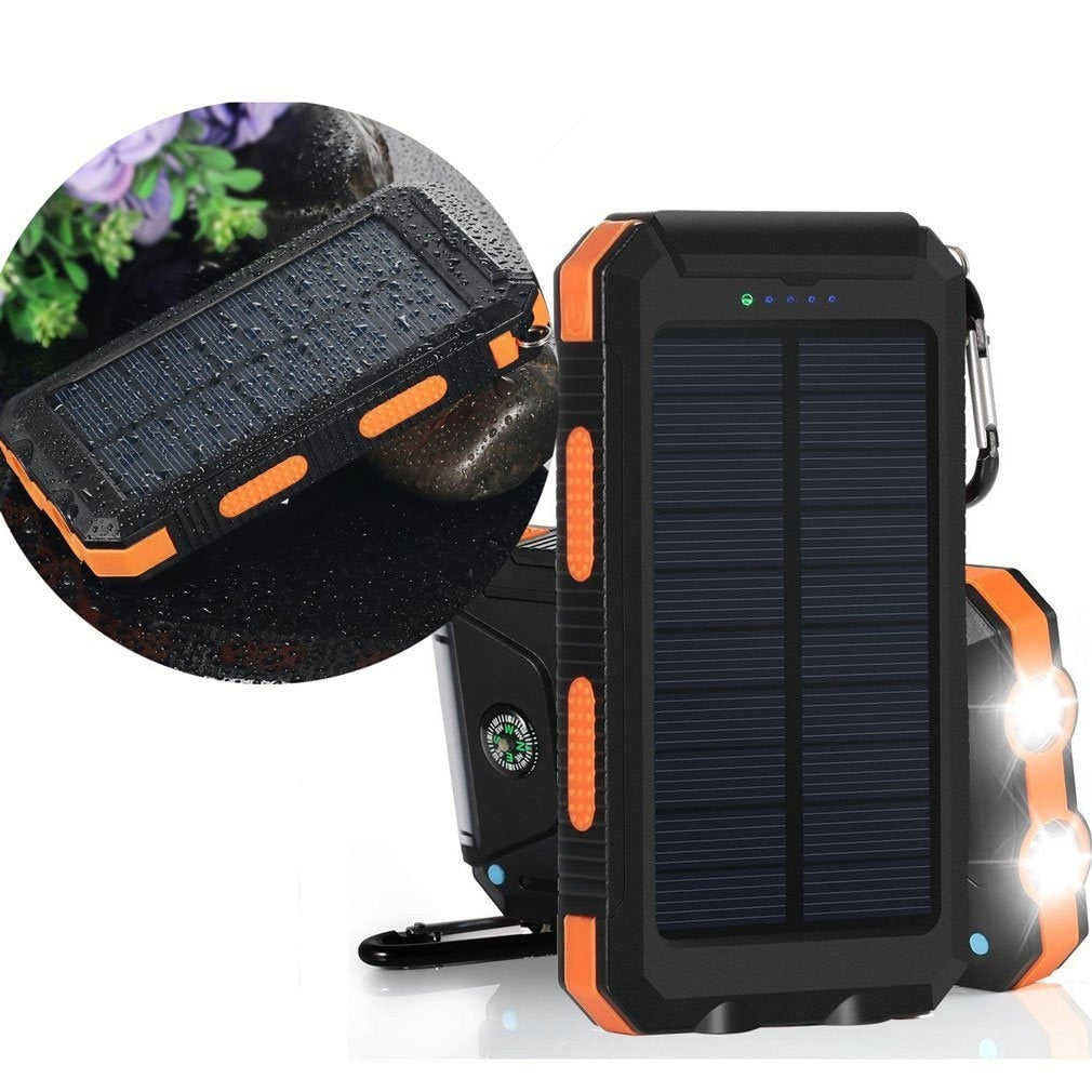 Portable Solar Power Bank & Charger
