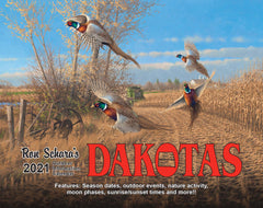 2021 Dakota's Outdoor Information Calendar