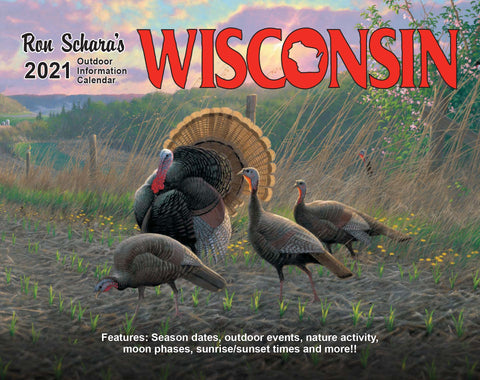 2021 Wisconsin Outdoor Information Calendar