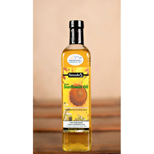 Virgin Sunflower Oil 16oz