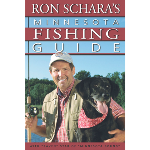 Ron Schara MN Fishing Guide (Bonus: Receive a free Rapala lure with order!)