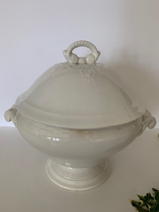 Antique Ironstone Tureen