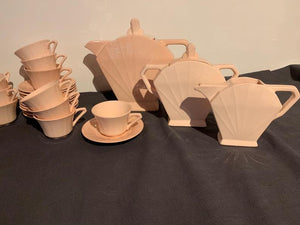 Vintage French Art Deco Coffee Set