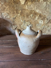 Load image into Gallery viewer, Antique French Stoneware Oil Jug