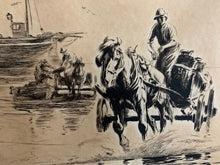 Load image into Gallery viewer, Antique Signed Etching by George Soper