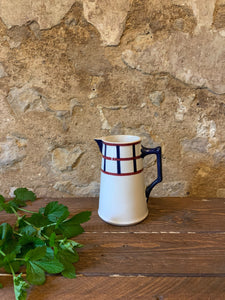 Antique French Ironstone Bearn Jug