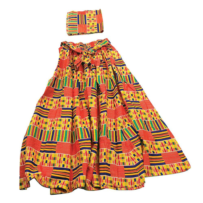 Kente Maxi Skirt 1 Womens Skirts