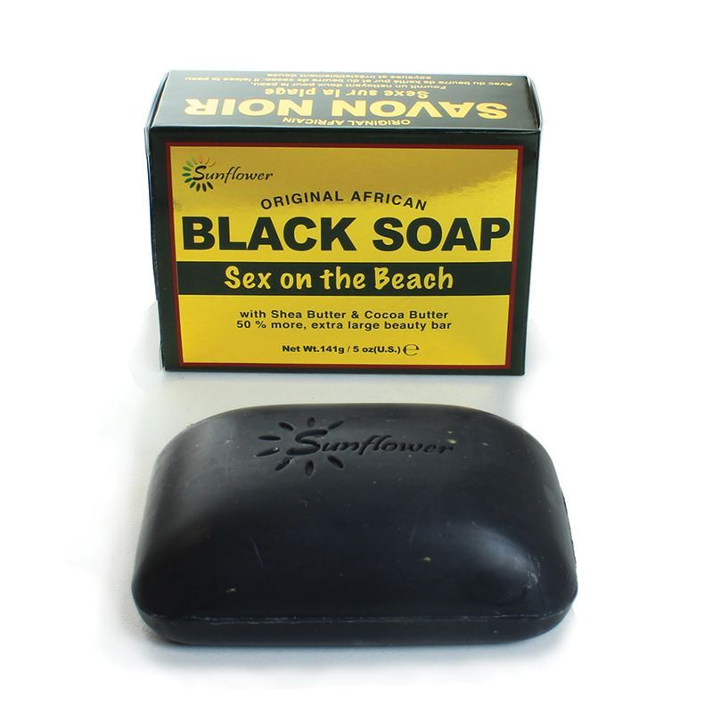Sex On The Beach Black Soap - 5 Oz. African