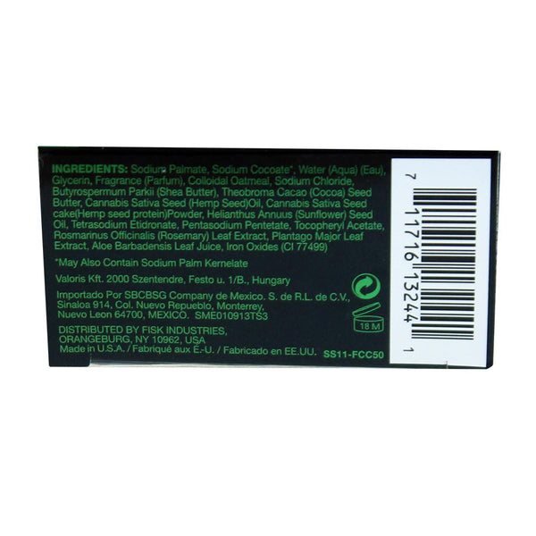 Fresh Cannabis Black Hemp Soap - 5 Oz. African