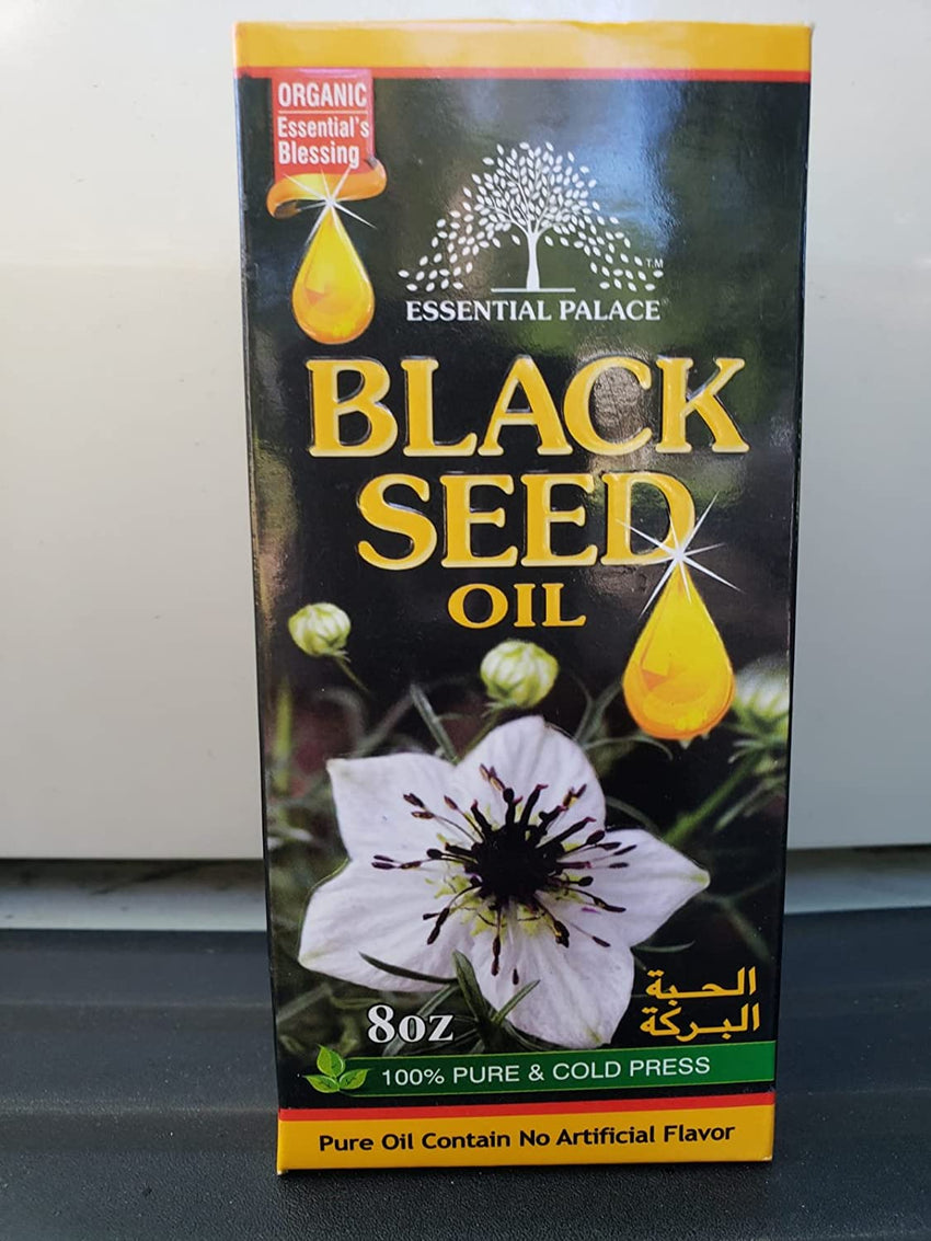 Essential Palace Black Seed Oil 8 Oz