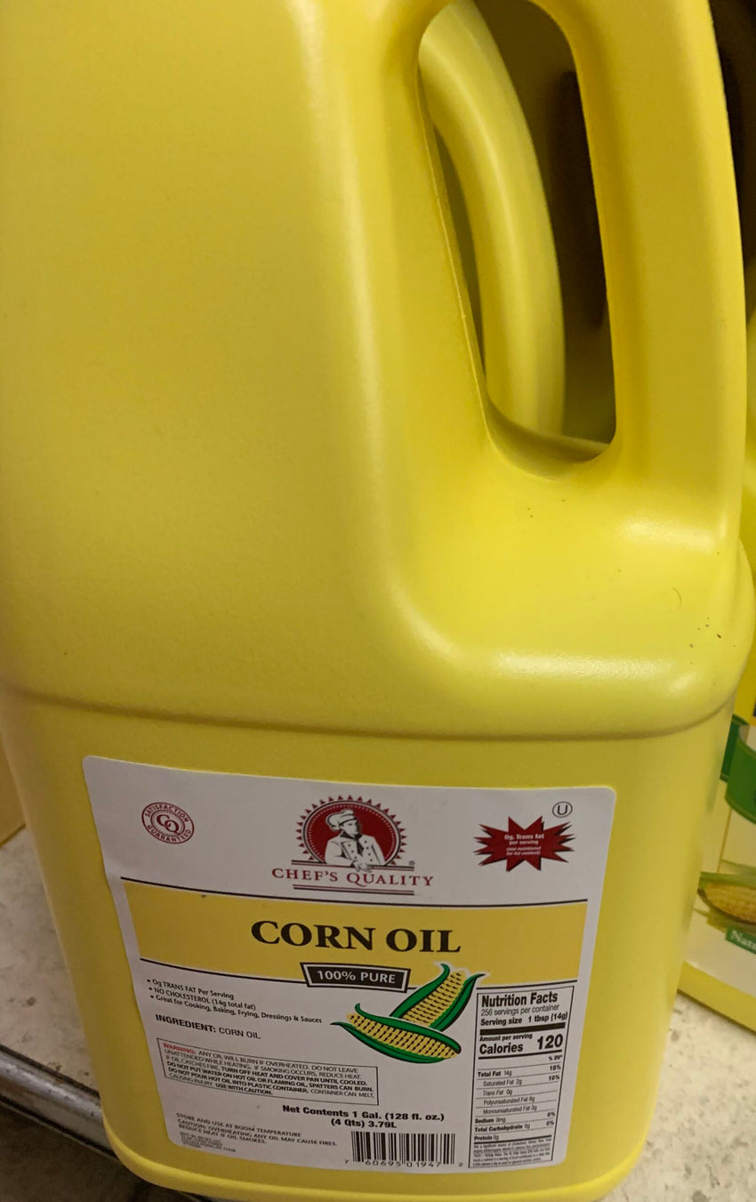Chefs Quality Corn Oil (1 Gal)