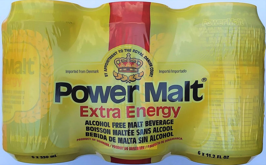 Power Malt - 6 Pack Cans