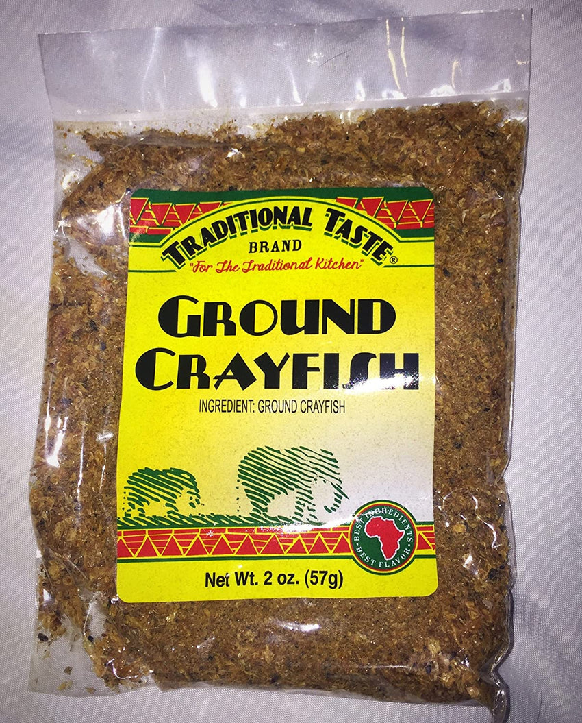 Traditional Taste Ground Crayfish (2 Oz)