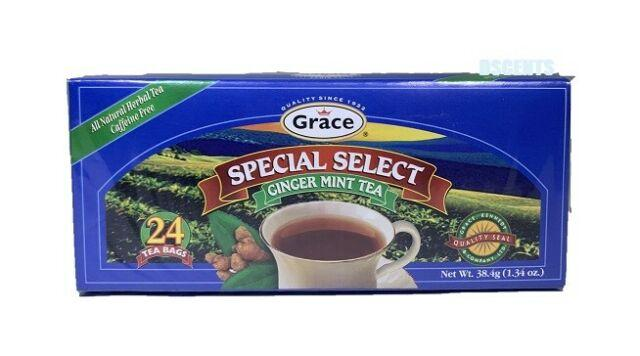 Grace Ginger Mint Tea